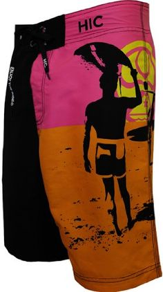 HIC Endless Summer 8 Way Octo Super Stretch Boardshorts in Black  32 ** Find similar swimwear by clicking the image
