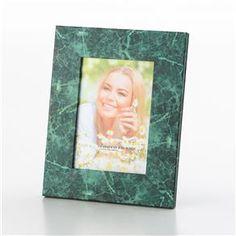 Porta Retrato Mármore Verde 13x18