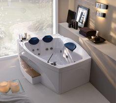 Vasca Loop & Friends di Villeroy & Boch #vasca #bathroom #idromassaggio