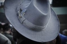 http://chicerman.com  billy-george:  Sweet hat  Spotted at Pitti Uomo 88  Photo by Enrico Labriola  #streetstyleformen