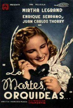 1941 - Los martes, orquídeas. Mirtha Legrand.