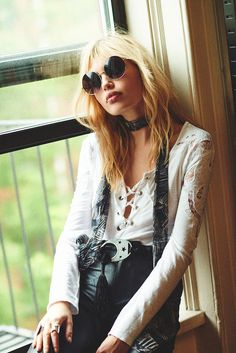Muse Staz Lindes Channels Her Musical Roots For Free People