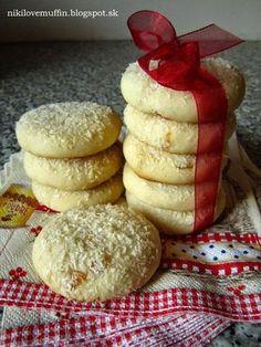 Salko cookies - My site Fudge Brownies, Brownie Cookies, Cookie Bars, Condensed Milk Cake, Czech Recipes, Sweet Cookies, Sweet Pastries, Biscuit Recipe, Sweet Desserts