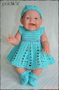 Best 12 Dress Crochet very elegant with step-by-step Pattern faci Crochet Doll Dress, Crochet Doll Pattern, Crochet Shoes, Knit Crochet, Baby Girl Crochet, Crochet Baby Clothes, Crochet For Kids, Baby Dress Patterns, Doll Clothes Patterns