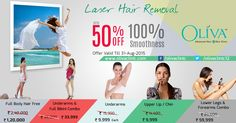 Up to 50% off on Laser Hair Removal