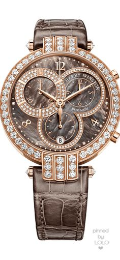 Since Harry Winston has transformed diamonds into art and revolutionized modern jewelry and watch design. Visit the official Harry Winston website. Amazing Watches, Beautiful Watches, Cool Watches, Watches For Men, Latest Watches, Harry Winston, Tourbillon Watch, Timex Watches, Pink Sapphire