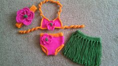 Hula+Baby+Crochet+Baby+Bikini+set+Photo+Prop+by+DesignsByJennyWren,+$50.00