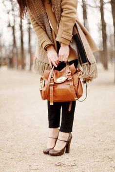 Fall clothes are some of the best clothes.