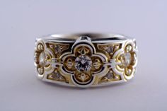 Renaissance Wedding Ring by Addington Karpathia