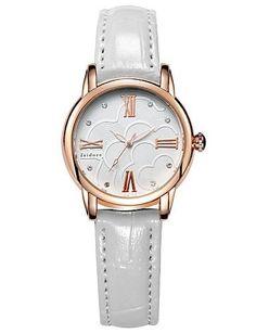 SKLIT Frauen aus echtem Leder wasserdicht einfache Armbanduhren - http://uhr.haus/sklit-watches/sklit-frauen-aus-echtem-leder-wasserdicht