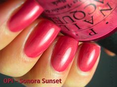 """OPI """"Sonora Sunset"""" - figures I discover a new color I like, and find out it was discontinued years ago. #opi"""