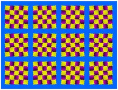 Moving square illusion