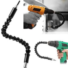 290mm Flexible Shaft Bits Extension Screwdriver Bit Electric Drill Power Tool Accessories