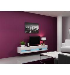 meuble TV vigo noir - séjour-meuble tv