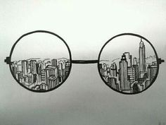 seeing a city through someone else's eyes