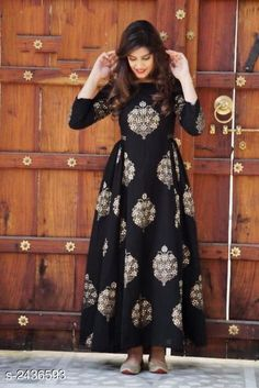 Checkout this latest Gowns Product Name: *Ethnic Pure Rayon 14 Kg Gown* Sizes:  S, M, L Easy Returns Available In Case Of Any Issue   Catalog Rating: ★4 (1822)  Catalog Name: Cinderella Ethnic Pure Rayon 14 Kg Gowns Vol 1 CatalogID_326561 C79-SC1289 Code: 543-2436593-498