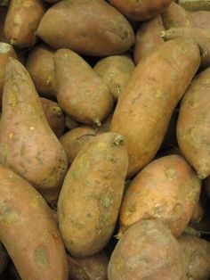 Sweet Potatoes from Adams Hometown Market. Simply bake them in the oven and they are delicious to eat!