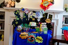 Super hero birthday party | My Mommy Style