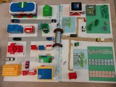 3D map - in groups map out important areas in our community