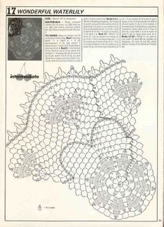Decorative Crochet Magazine n° 02 - tristanime - Picasa Webalbumok Crochet Books, Crochet Art, Crochet Home, Thread Crochet, Crochet Stitches, Free Crochet Doily Patterns, Crochet Doily Diagram, Filet Crochet, Crochet Motif