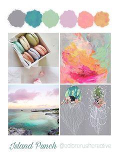 Color Crush Creative Palette 5: Island Punch — Kellee Wynne Studios
