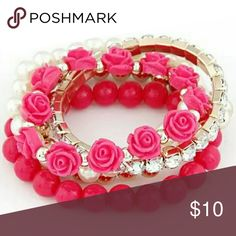 Any 2 for 15$ Mix and match!!! Brand new 5 pieces bracelet for women Jewelry Bracelets