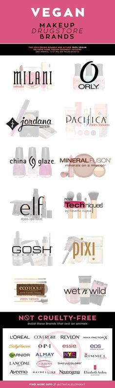 Vegan Products... Full list of Vegan makeup drugstore brands and which brands to avoid that test on animals!
