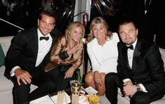 PHOTO: #LeonardoDiCaprio and #BradleyCooper bring moms to #GoldenGlobes