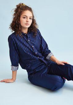 Marimekko, Retro, Printed Shirts, Asos, Navy Blue, My Style, Sleeves, Model, Cotton