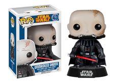 Unmasked Darth Vader - Darth Vader Wihout Mask - Darth Vader Vinyl Figure - Star Wars pops - Star Wars bobblehead - Star Wars bobble-head - Star Wars gifts - Star Wars Funny