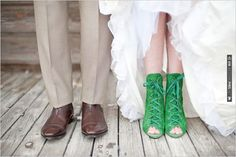 green wedding shoes | CHECK OUT MORE IDEAS AT WEDDINGPINS.NET | #weddingshoes