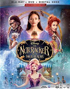 Disney The Nutcracker and the Four Realms Blu-ray Combo Pack Multi-Screen Edition , Mackenzie Foy, Misty Copeland, Dolby Digital, Digital Audio, Helen Mirren, Disney Parks, Walt Disney, Disney Fun, Disney Stuff