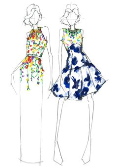 Oscar de la Renta girl at heart.