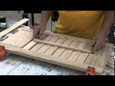 Sommerfeld's Tools for Wood - Window Shutter Set Made Easy with Marc Sommerfeld - Part 2 - YouTube
