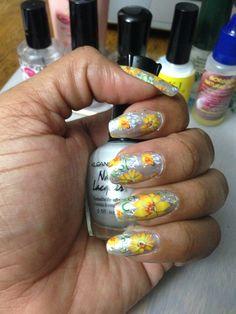 Kleancolor Silver #8 & Nail Foils!