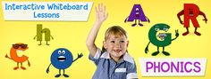 SMARTboard Phonics documents (Long o, Long a, Watch Out Bossy R, Digraphs, hard and soft c/g)