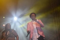 Two veterans! Jamaican musician Dean Fraser watches as Beres Hammond makes his way onto the stage for a stellar performance at Rebel Salute — at Grizzly's Plantation Cove, St. Beres Hammond, Visit Jamaica, Jamaican Music, Dean, Rebel, Stage, Watches, Couple Photos, Couple Shots