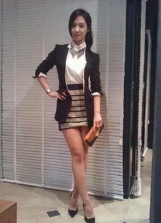 Yuri SNSD casual dress matching Snsd, Yuri, Kpop, Casual, Inspiration, Dresses, Style, Fashion, Biblical Inspiration