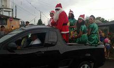 Grupo PS da Alegria realiza festa de Natal em Porto Amazonas