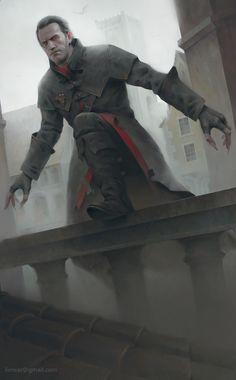 "quarkmaster: "" Dettlaff van der Eretein Witcher Blood and Wine fan art Character belongs to CD Projekt RED Alexander Borodin "" Fantasy Male, Fantasy Rpg, Fantasy Artwork, Dark Fantasy, Fantasy Heroes, Vampire Stories, Vampire Art, Witcher Art, The Witcher 3"