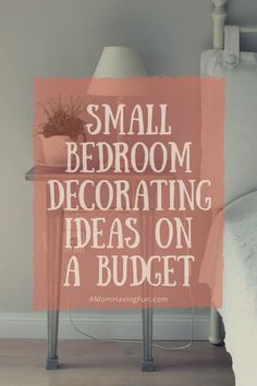 11 Small Bedroom Decorating Ideas on a Budget to Create Space Bedroom Decoration bedroom decor ideas Small Bedroom Ideas On A Budget, Bedroom Decor On A Budget, Small Room Bedroom, Diy On A Budget, Home Decor Bedroom, Simple Bedrooms, Bedroom Décor, Modern Bedroom, Bed Room