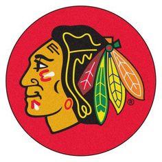 Fan Mats NHL Hockey Round Puck Indoor Rug - 17216