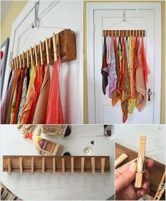 home accessories shop 10 Clever Ways to Organize Your Scarves 8