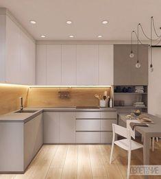 Фартук из дерева #kitchendesign