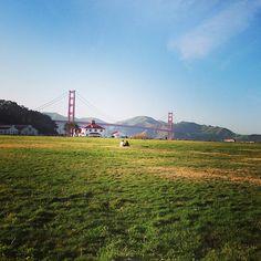 Presidio Promenade Hiking Trail in San Francisco, CA, US