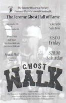 Ghostwalk | Jerome Historical Society