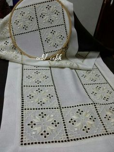 645 Best images about hardanger Embroidery Designs, Types Of Embroidery, Learn Embroidery, Hardanger Embroidery, Embroidery Stitches, Hand Embroidery, Bookmark Craft, Drawn Thread, Doily Patterns