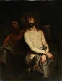 Artwork by Anthony van Dyck, Ecce Homo, Made of oil on canvas