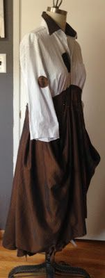 Paganoonoo:Michelle Dress upcycle sewing instructions for sale
