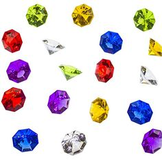 Acrylic Colorful Round Treasure Gemstones for Table Scatter, Vase Fillers, Event, Wedding, Arts & Crafts, Birthday Decorations Favor (36 Pieces) by Super Z Outlet® (Assorted) Super Z Outlet http://www.amazon.com/dp/B014JUBGD6/ref=cm_sw_r_pi_dp_EgVaxb1AAKMXC